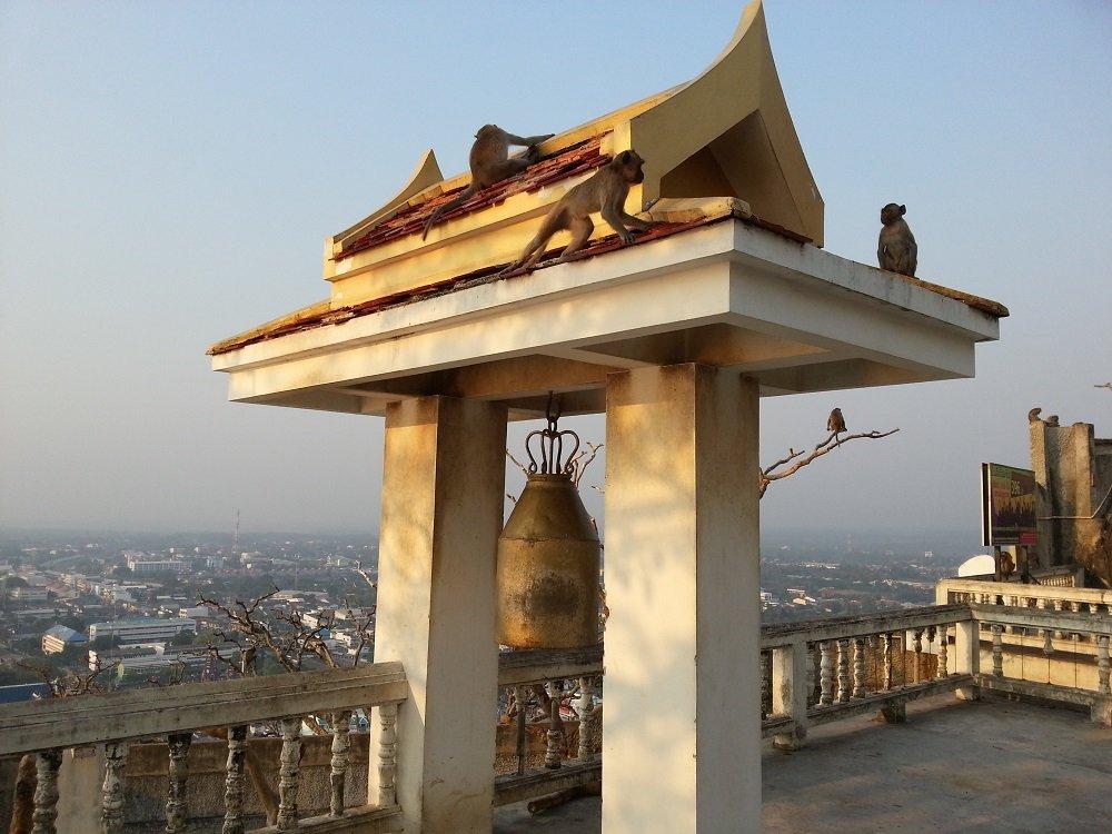 View from Prachuap Khiri Khan's famous Monkey Temple