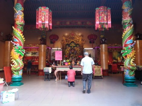Altar in Guan Di Temple