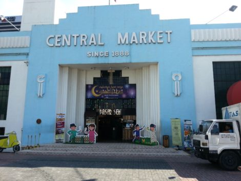 Entrance to KL Central Market
