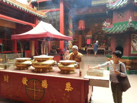 Guan Di Temple is a popular place of worship