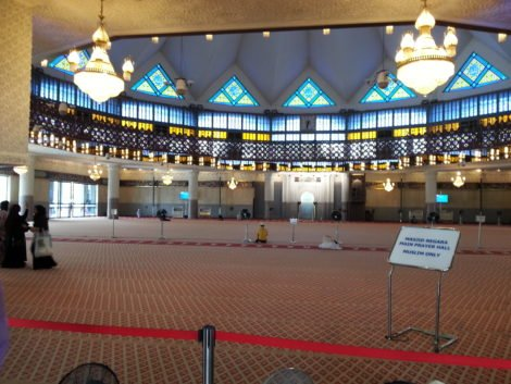 Main prayer hall of the National Mosque
