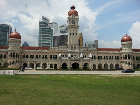 Sultan Abdul Samad Building on Merdeka Square