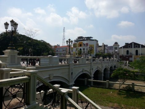 Hugh Low Bridge in Ipoh