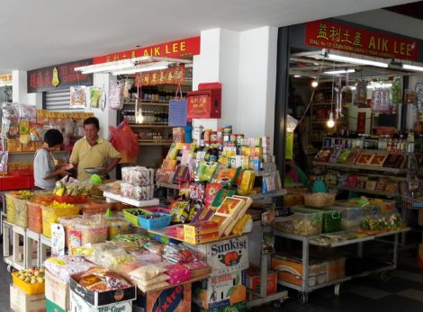 Most of the vendors are from Penang's Chinese Community