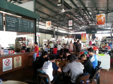 Sri Weld Food Court is a popular place
