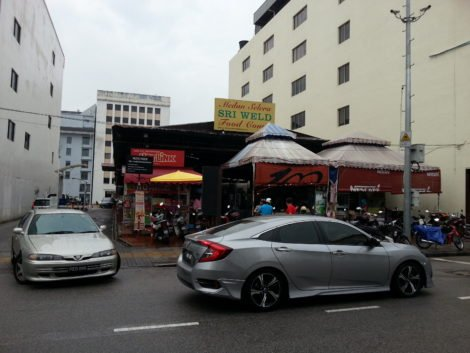 Sri Weld Food Court is on busy Beach Street