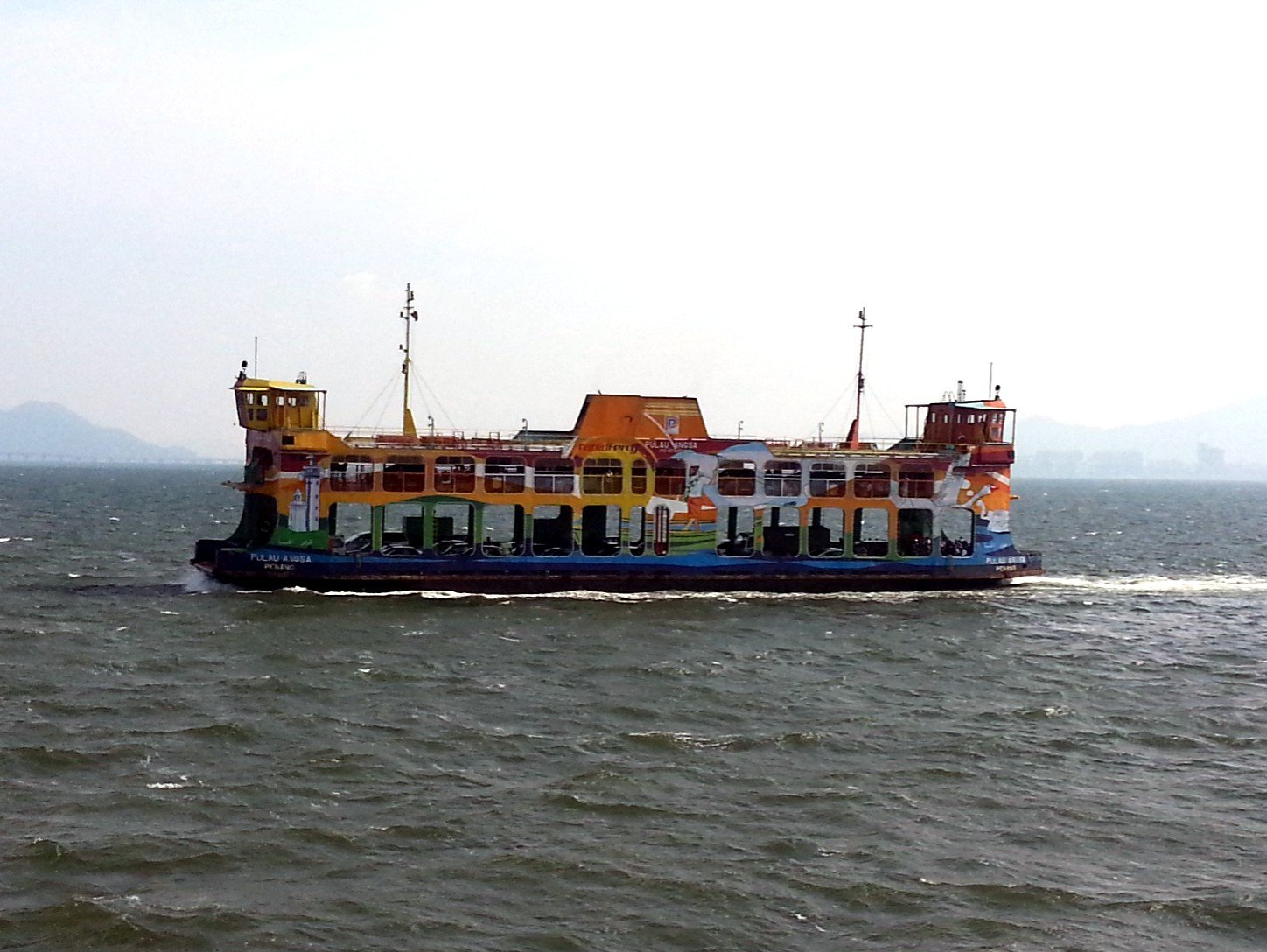 Ferry from Butterworth to George Town