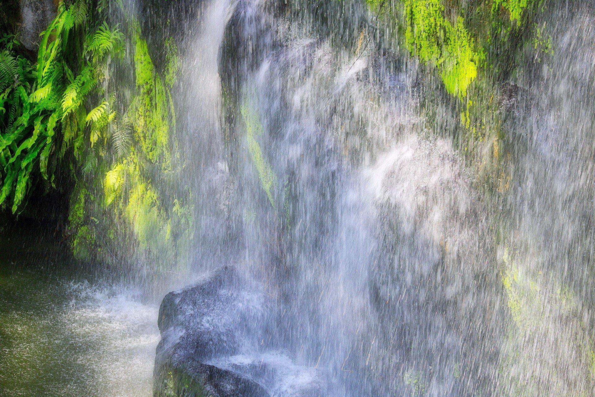 Waterfall in Taman Negara National Park
